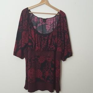 Lane Bryant size 26/28 short sleeve top